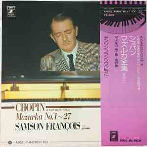 Samson François - Chopin - Samson François, Chopin ‎– Chopin 51 Mazurkas (Vol.1) No.1~27 album download